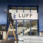 Montage Werbetafel LUFF