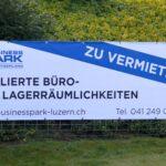 Werbebanner Businesspark